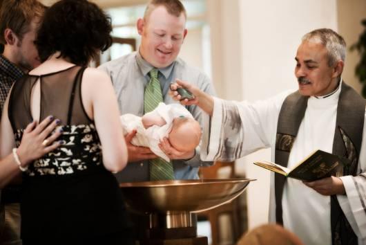 fotos batizado de bebe