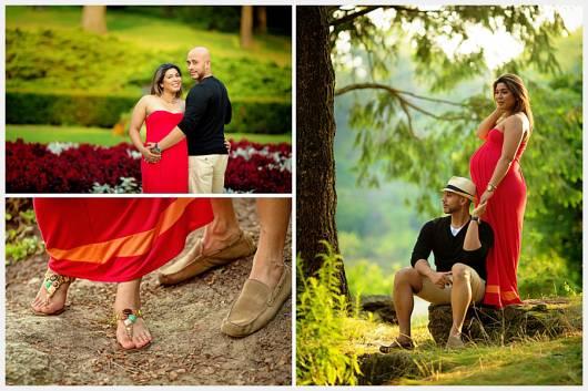 fotos gravidez casal parque