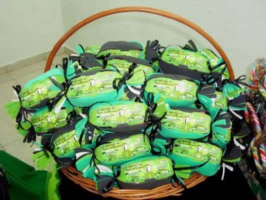 mesa de doces festa do ben 10