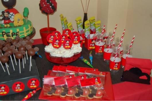 mesa doces festa minnie