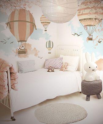 Papel de parede para quarto de menina for Carta da parati di lusso