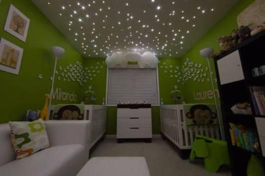 decoração para quarto de bebê gêmeos
