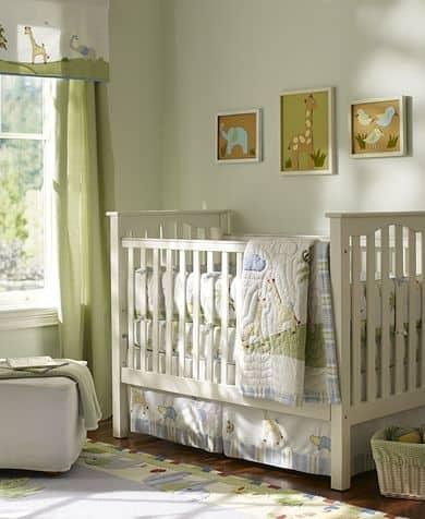 quartinho simples de bebê