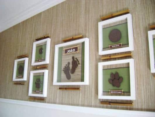 galeria de quadros decoração infantil