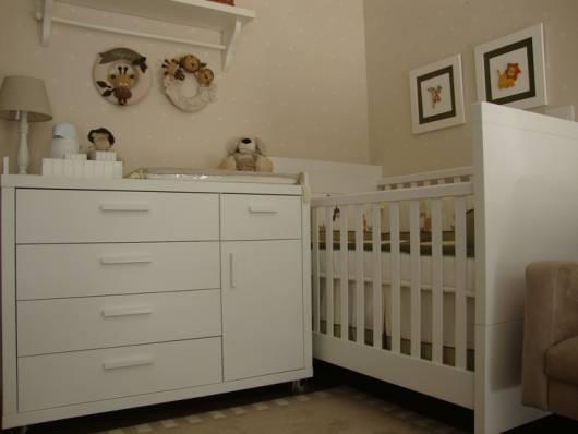 quarto clean de bebê