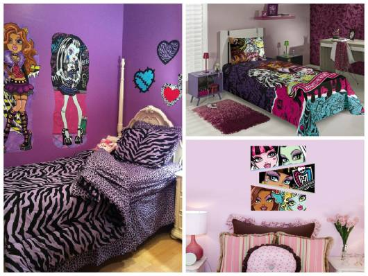 ideias para decorar monster high