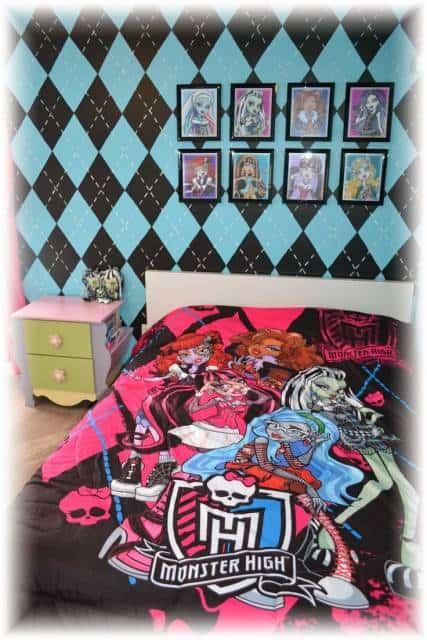 parede decorada quarto infantil menina
