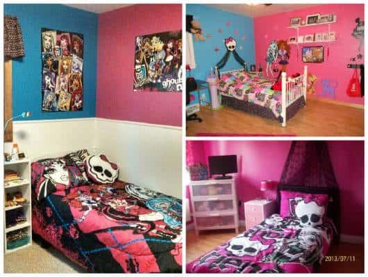 ideias para decorar quarto feminino