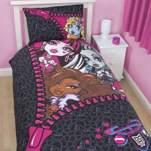 jogo de cama quarto menina