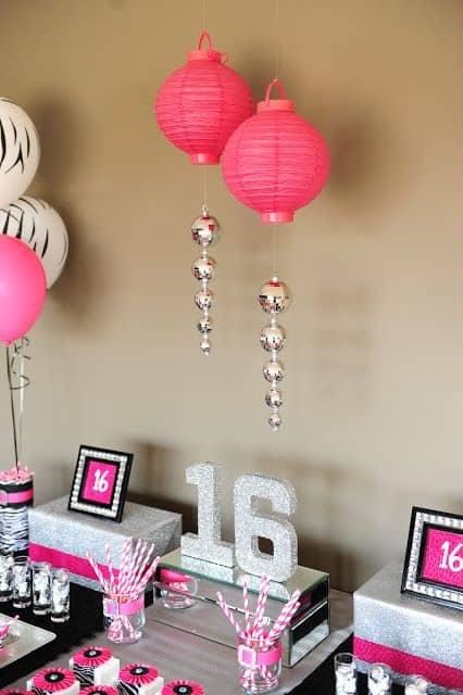 festa 16 anos pink