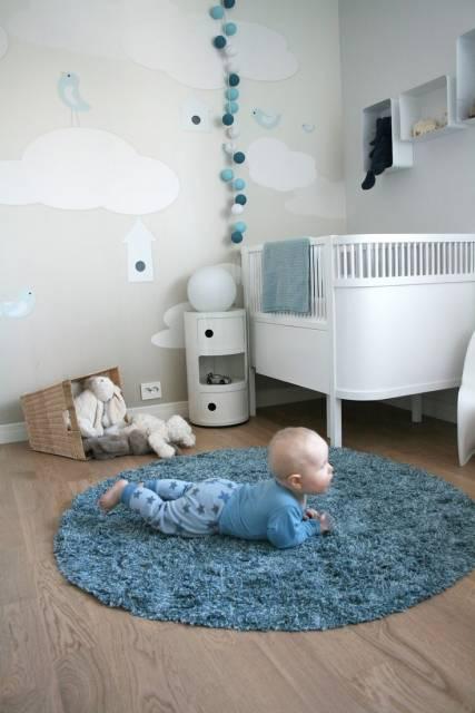 Tapete para quarto de beb 40 dicas e fotos - Babyzimmer tapete ...
