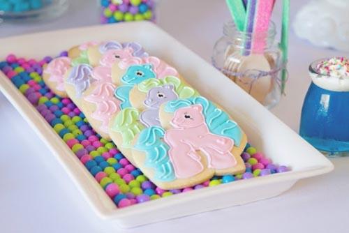 modelo de biscoito decorado equestria girls