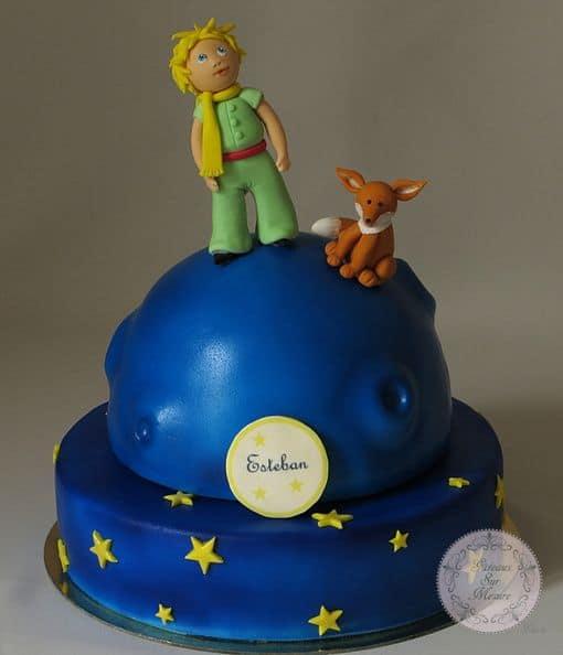 dica de bolo para chá de bebê pequeno príncipe