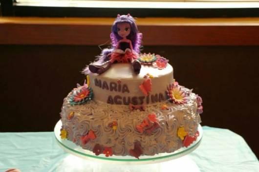 lindo bolo de festa equestria girl