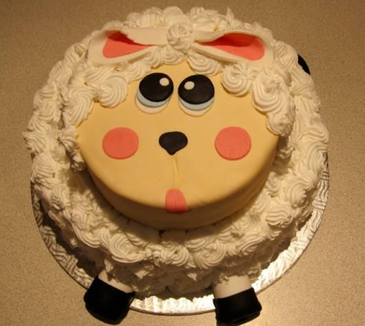 bolo festa ovelinha glace