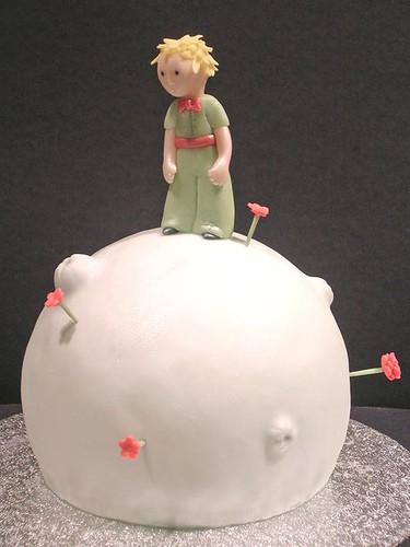 lindo bolo de festa pequeno príncipe