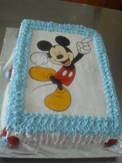 papel de arroz mickey