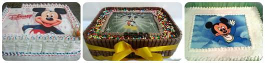 modelos bolo papel arroz mickey