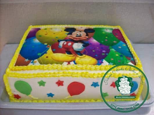 bolo festa mickey