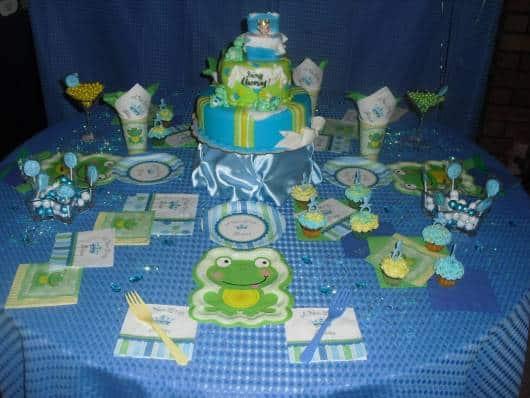 dica de decoração de mesa para chá de bebê pequeno princepe