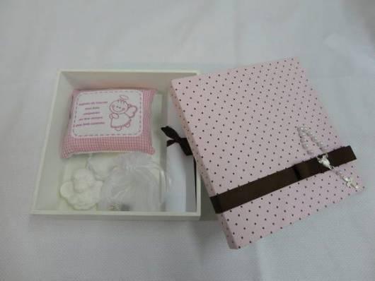 caixa para padrinhos batizado