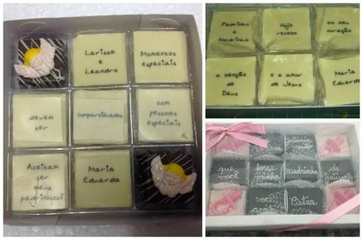 modelos caixa de chocolate batizado
