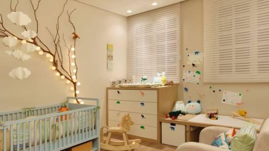 enfeite simples quarto bebê menino