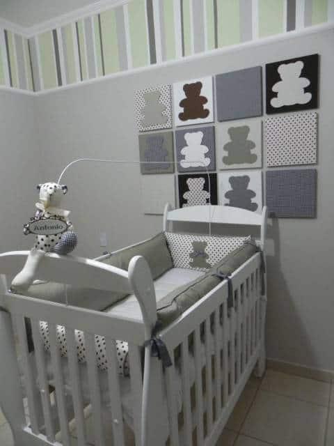 quarto decorado ursinhos