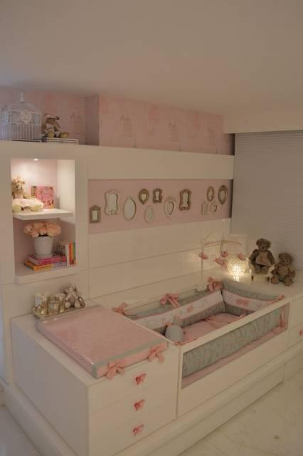 decoracao quarto bebe pequenos ambientes : decoracao quarto bebe pequenos ambientes:DECORAÇÃO DE QUARTO DE BEBÊ: 70 Dicas e Fotos!