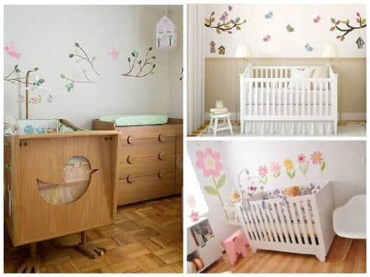 adesivos de parede quarto bebê