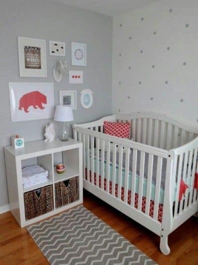 wandgestaltung babyzimmer neutral: neutrale wandgestaltung ... - Babyzimmer Wandgestaltung Beispiele Neutral