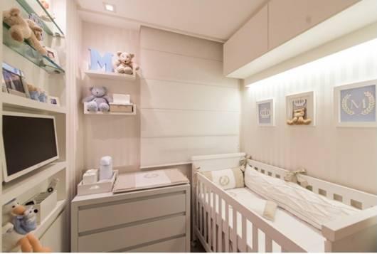 quarto bebê pequeno