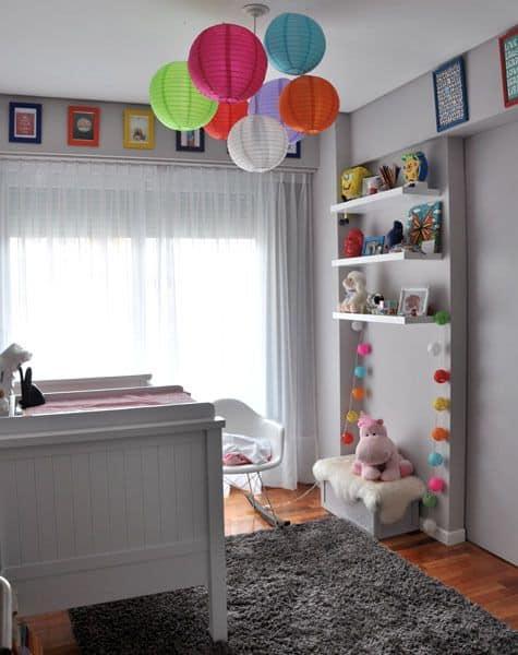 decoração infantil colorido