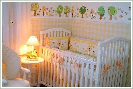 quarto bebê amarelo