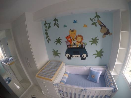 enfeite EVA quarto bebê