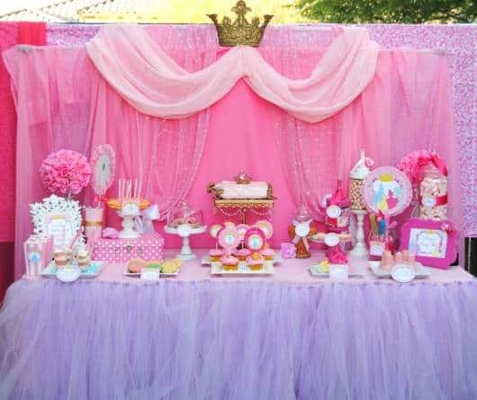 dicas de decoração da festa bela adormecida