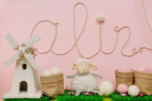 decoracao festa ovelha