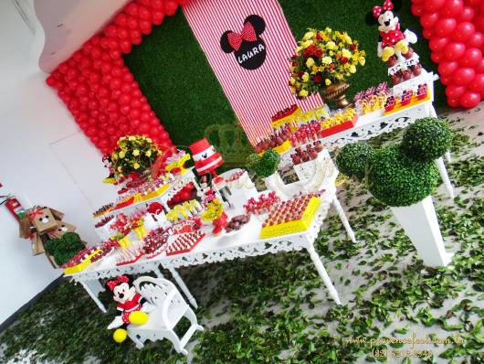 decoracao provencal minnie baby
