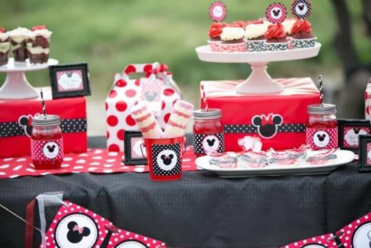 doces festa minnie baby vermelha