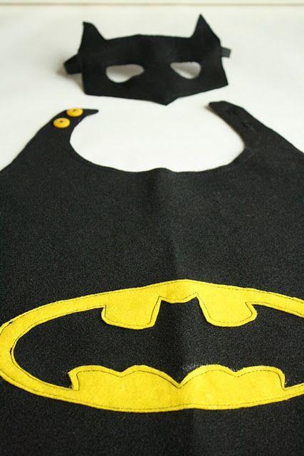 como fazer capa batman
