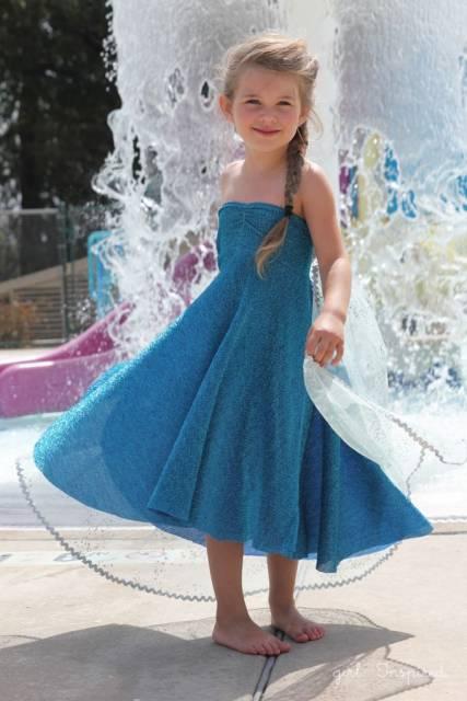 fantasia princesa simples