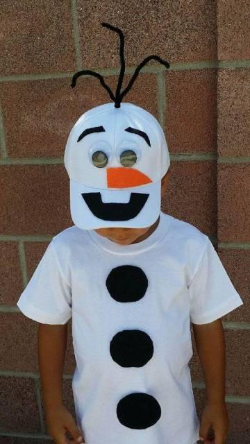 fantasia simples menino frozen