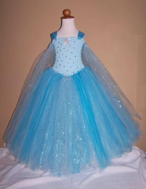 vestido look frozen