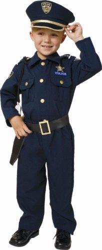 farda polícia criança