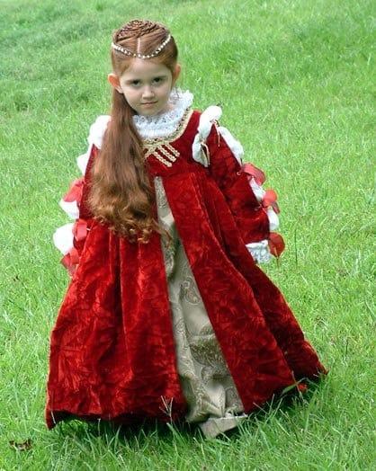 fantasia de princesa para menina