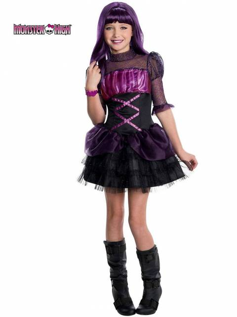 vestido fantasia monster high