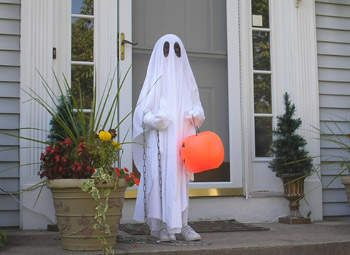 fantasia simples halloween