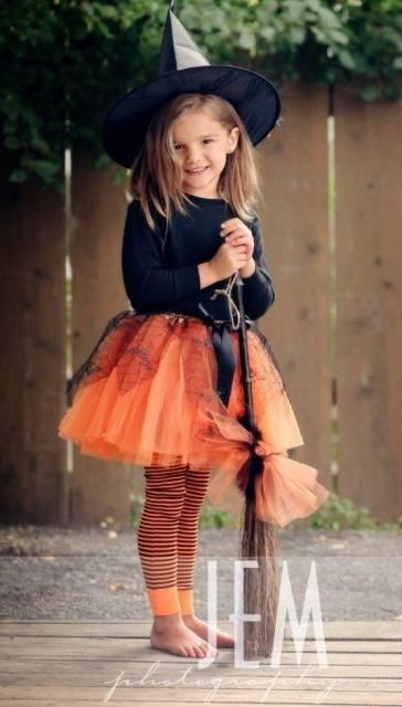 roupa de bruxa menina