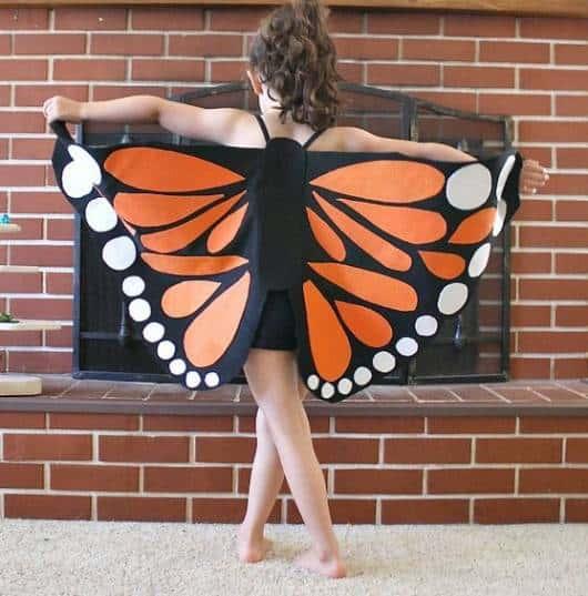 fantasia borboleta