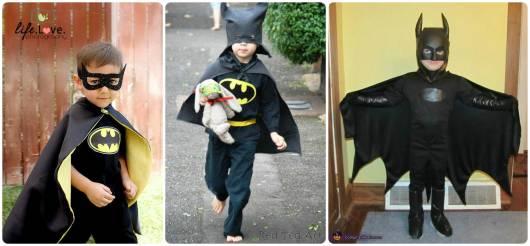 ideias simples para batman